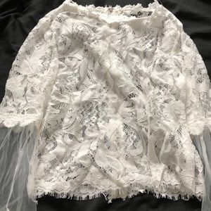 Seina Tops - Lace Top